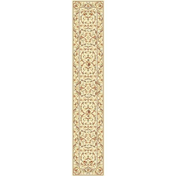 Safavieh Lyndhurst Decorative Rug - 2.3' x 12' - Ivory/Ivory