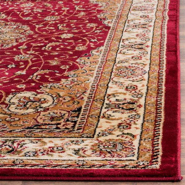 Safavieh Lyndhurst Decorative Rug - 2.3' x 16' - Red/Ivory