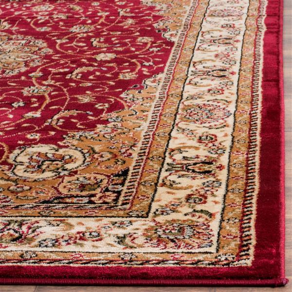 Safavieh Lyndhurst Decorative Rug - 4' x 6' - Red/Ivory