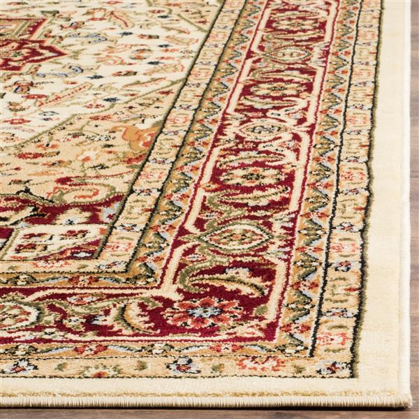 Safavieh Lyndhurst Decorative Rug - 4' x 6' - Ivory/Red