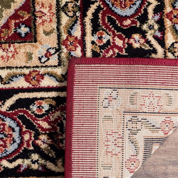 Safavieh Lyndhurst Decorative Rug - 2.3' x 14' - Red/Black