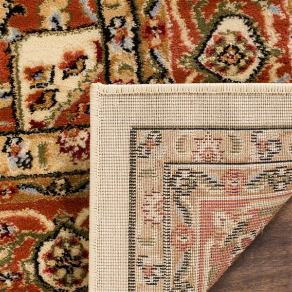 Safavieh Lyndhurst Decorative Rug - 2.3' x 14' - Ivory/Rust
