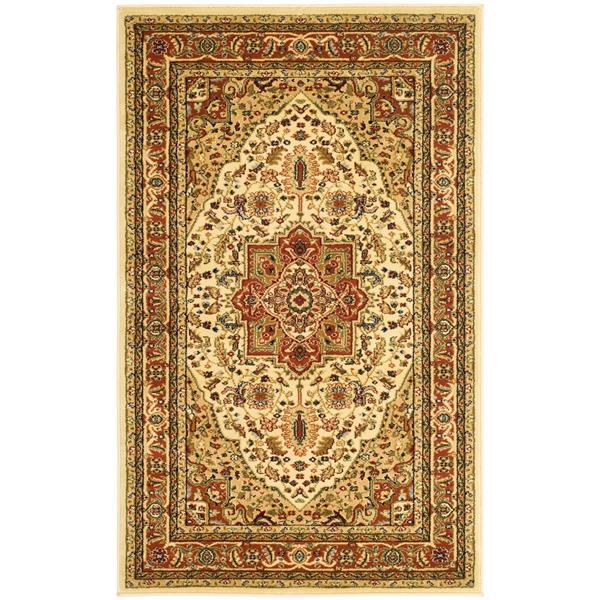 Safavieh Lyndhurst Decorative Rug - 3.3' x 5.3' - Ivory/Rust
