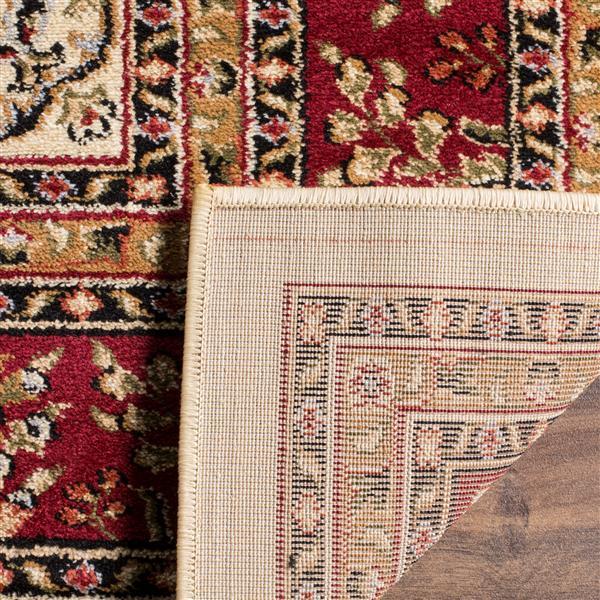 Safavieh Lyndhurst Decorative Rug - 2.3' x 16' - Ivory/Red