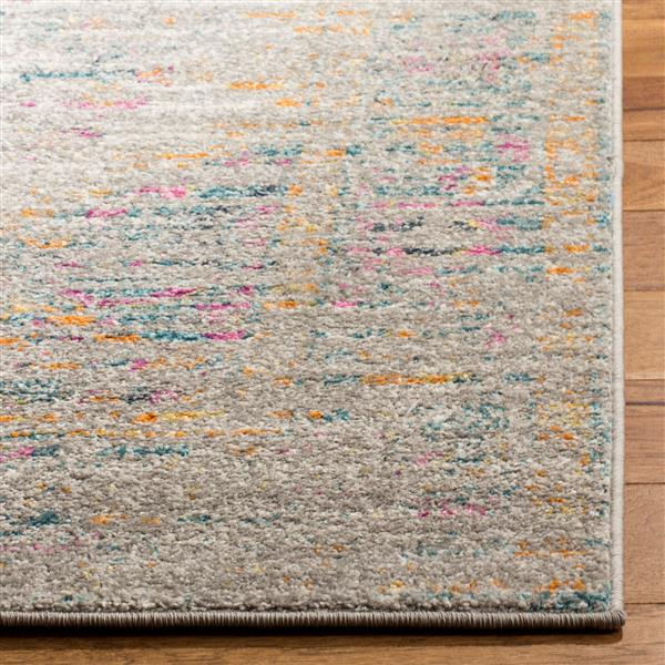 Safavieh Madison Decorative Rug - 5.1' x 7.5' - Light Grey/Fuchsia