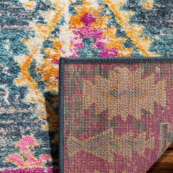 Safavieh Madison Decorative Rug - 5.1' x 7.5' - Fuchsia/Blue