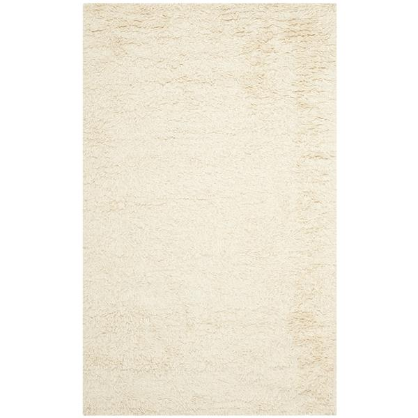"Safavieh Shag Decorative Rug - 7' 6"" x 9' 6"" - Ivory"