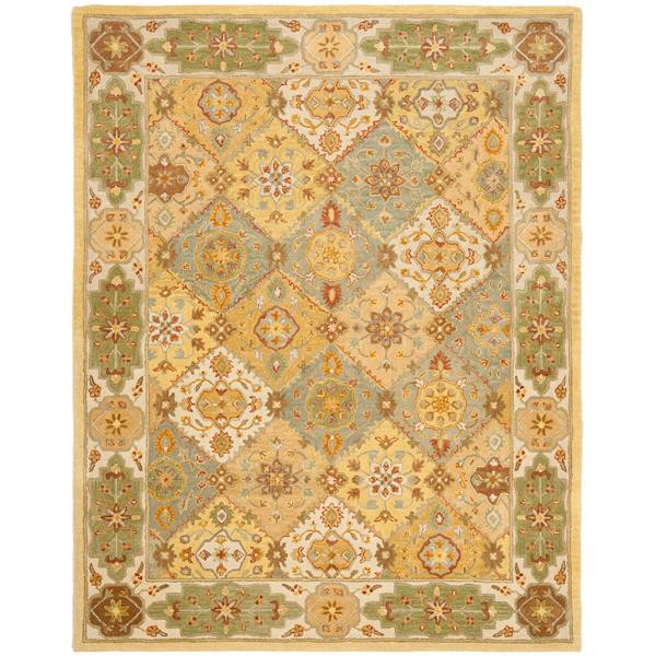 "Safavieh Heritage Decorative Rug - 7' 6"" x 9' 6"" - Multicolour"