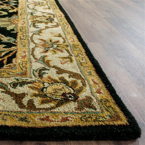 "Safavieh Heritage Decorative Rug - 7' 6"" x 9' 6"" - Black/Beige"
