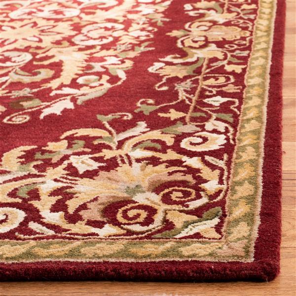 "Safavieh Heritage Decorative Rug - 7' 6"" x 9' 6"" - Red"