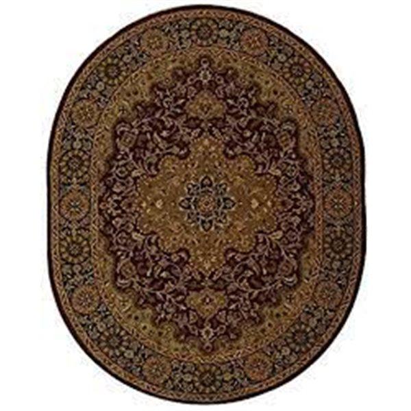"Safavieh Heritage Decorative Rug - 7' 6"" x 9' 6"" - Red/Black"