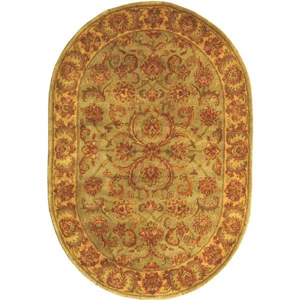 "Safavieh Heritage Decorative Rug - 7' 6"" x 9' 6"" - Green/Gold"