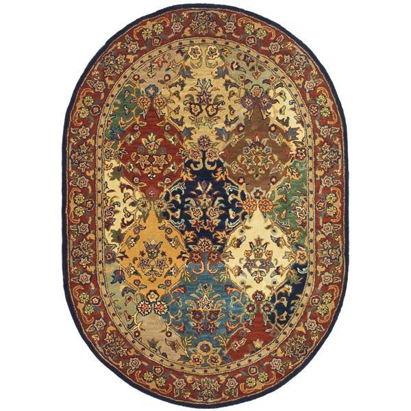 "Safavieh Heritage Decorative Rug - 7' 6"" x 9' 6"" - Multicolour"