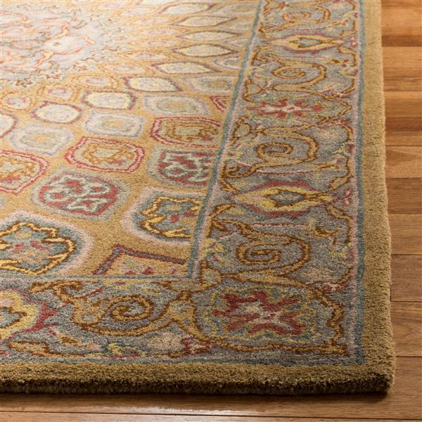 "Safavieh Heritage Decorative Rug - 7' 6"" x 9' 6"" - Light Brown/Grey"