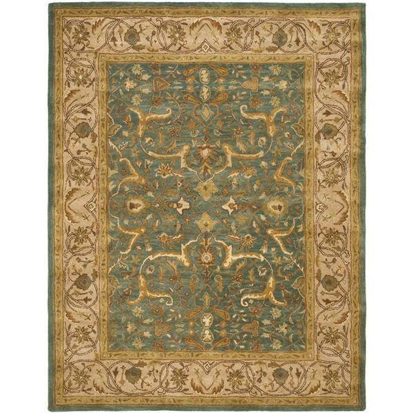 "Safavieh Heritage Decorative Rug - 7' 6"" x 9' 6"" - Blue/Beige"