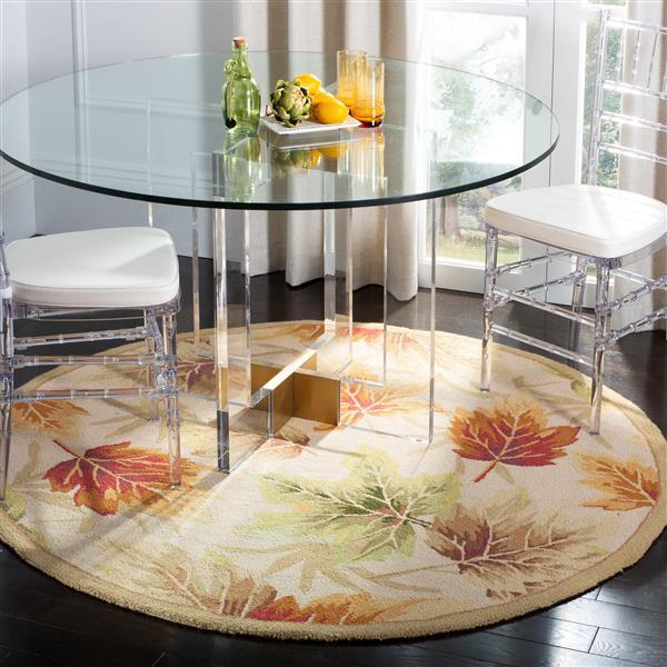 Safavieh Chelsea Decorative Rug - 3' x 3' - Ivory