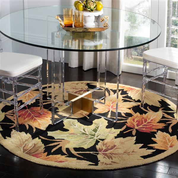 Safavieh Chelsea Decorative Rug - 3' x 3' - Black
