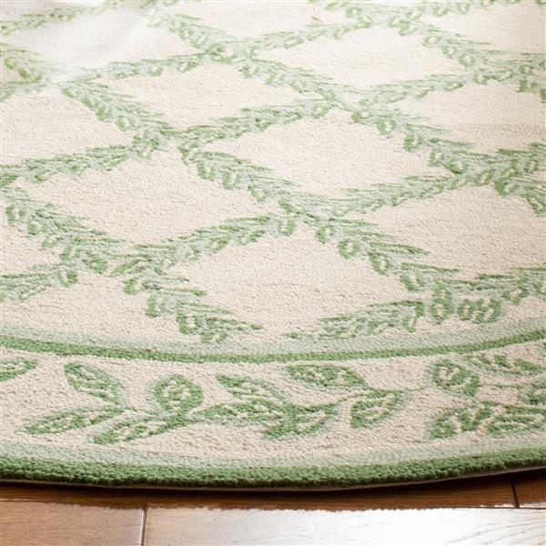 "Safavieh Chelsea Decorative Rug - 1' 8"" x 2' 6"" - Ivory/Light Green"