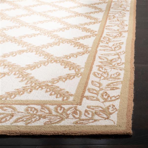 "Safavieh Chelsea Decorative Rug - 1' 8"" x 2' 6"" - Ivory/Camel"