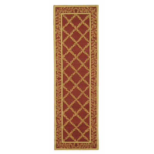 "Safavieh Chelsea Decorative Rug - 2' 6"" x 8' - Rust/Gold"