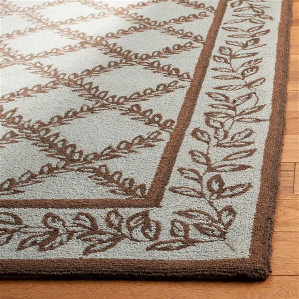 "Safavieh Chelsea Decorative Rug - 2' 6"" x 8' - Blue/Brown"