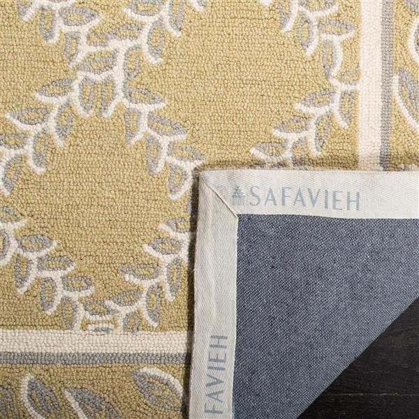 "Safavieh Chelsea Decorative Rug - 2' 6"" x 8' - Yellow/Grey"