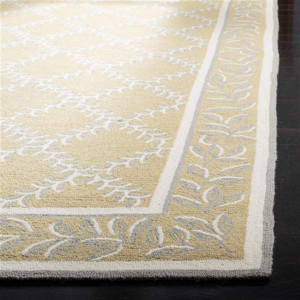"Safavieh Chelsea Decorative Rug - 2' 6"" x 6' - Yellow/Grey"