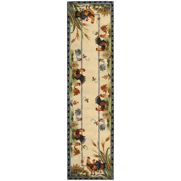 "Safavieh Chelsea Decorative Rug - 2' 6"" x 6' - Ivory/Gold"