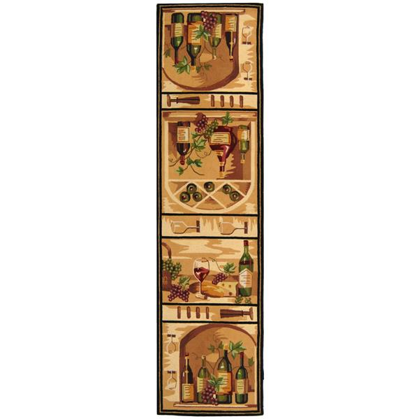"Safavieh Chelsea Decorative Rug - 2' 6"" x 8' - Gold"