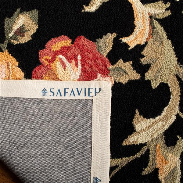 "Safavieh Chelsea Decorative Rug - 2' 6"" x 4' - Black"