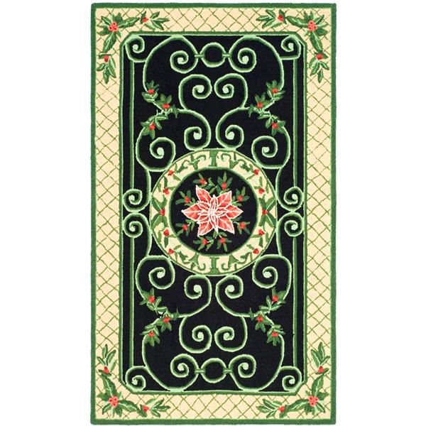 "Safavieh Chelsea Decorative Rug - 2' 9"" x 4' 9"" - Green/Beige"