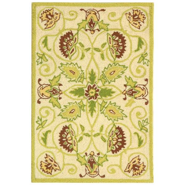 "Safavieh Chelsea Decorative Rug - 1' 8"" x 2' 6"" - Ivory/Green"
