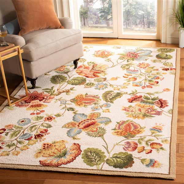 "Safavieh Chelsea Decorative Rug - 1' 8"" x 2' 6"" - Ivory"