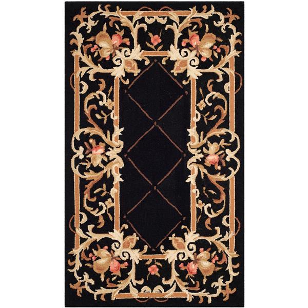 "Safavieh Chelsea Decorative Rug - 2' 9"" x 4' 9"" - Black"