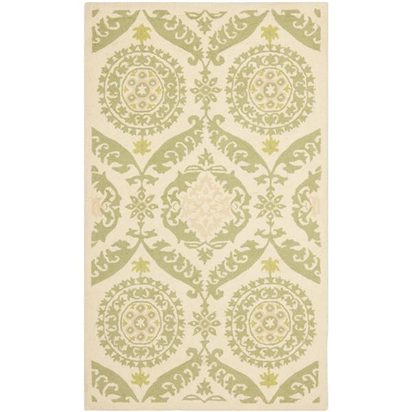 "Safavieh Chelsea Decorative Rug - 2' 9"" x 4' 9"" - Beige/Green"