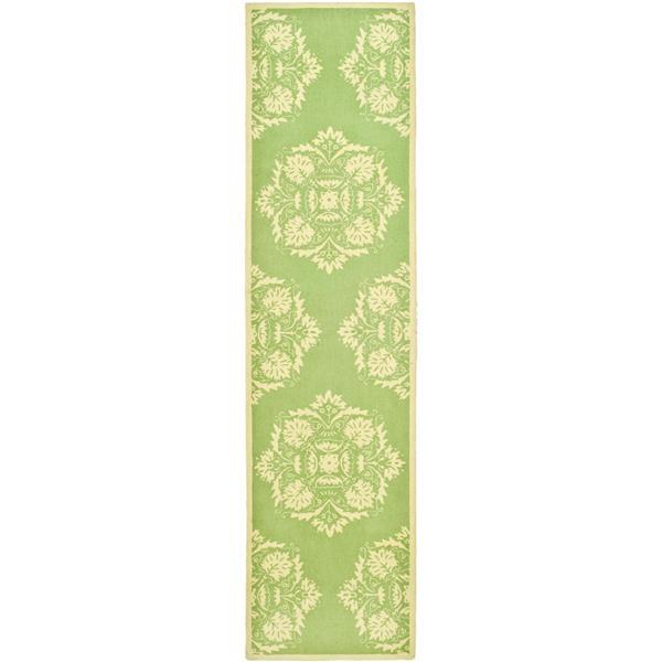 "Safavieh Chelsea Decorative Rug - 2' 6"" x 8' - Green/Beige"