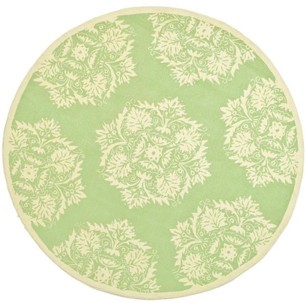 Safavieh Chelsea Round Rug  - 4' x 4' - Green/Beige