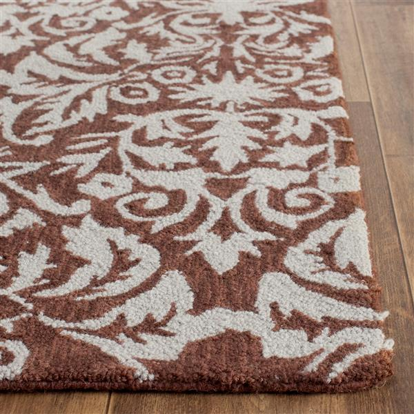 "Safavieh Chelsea Decorative Rug -  2' 9"" x 4' 9"" - Brown/Grey"