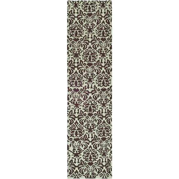 "Safavieh Chelsea Decorative Rug - 2' 6"" x 8' - Sage/Chocolate"