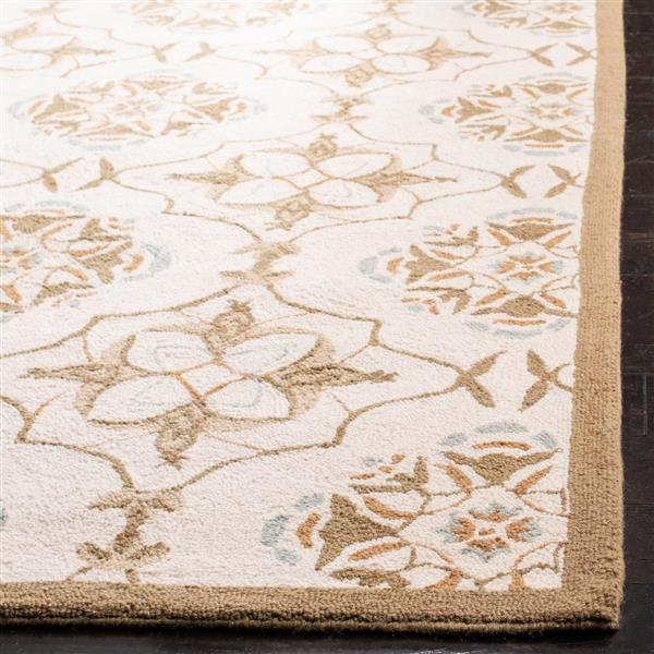 "Safavieh Chelsea Decorative Rug - 2' 6"" x 8' -  Ivory/Green"