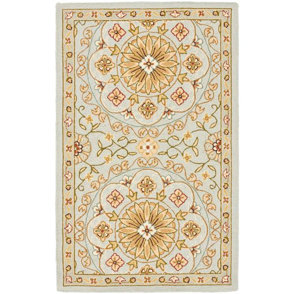 "Safavieh Chelsea Decorative Rug  - 2' 9"" x 4' 9"" - Teal/Green"
