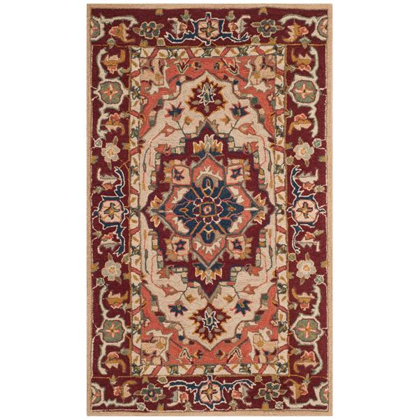 "Safavieh Chelsea Decorative Rug - 2' 6"" x 4' - Ivory"