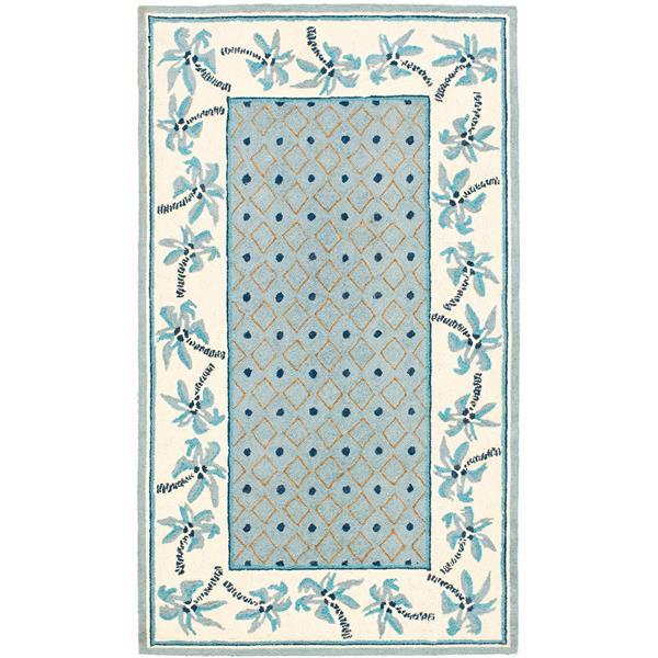 "Safavieh Chelsea Decorative Rug - 2' 6"" x 4' - Blue/Ivory"