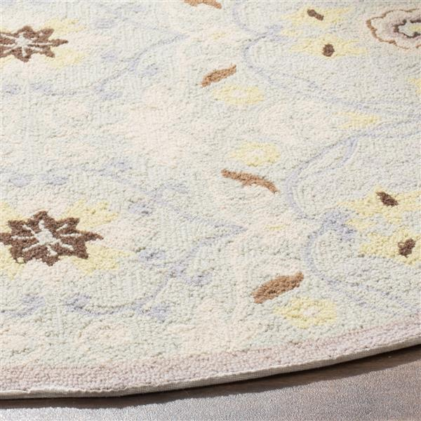 "Safavieh Chelsea Decorative Rug - 2' 6"" x 8' - Light Blue/Ivory"