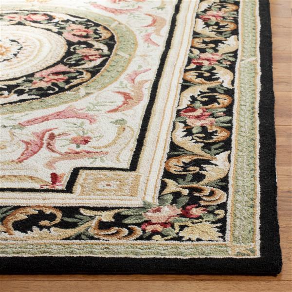 "Safavieh Chelsea Decorative Rug - 1' 8"" x 2' 6""- Ivory/Black"