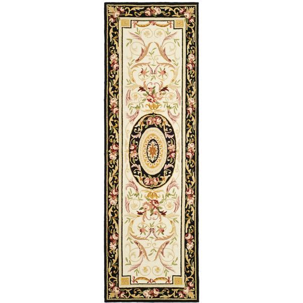 "Safavieh Chelsea Decorative Rug - 2' 6"" x 8' - Ivory/Black"