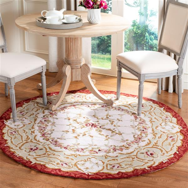 Safavieh Chelsea Decorative Rug - 3' x 3' - Ivory