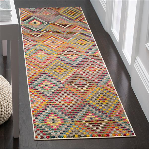 "Safavieh Monaco Decorative  Rug - 2' 2"" x 10' - Beige"