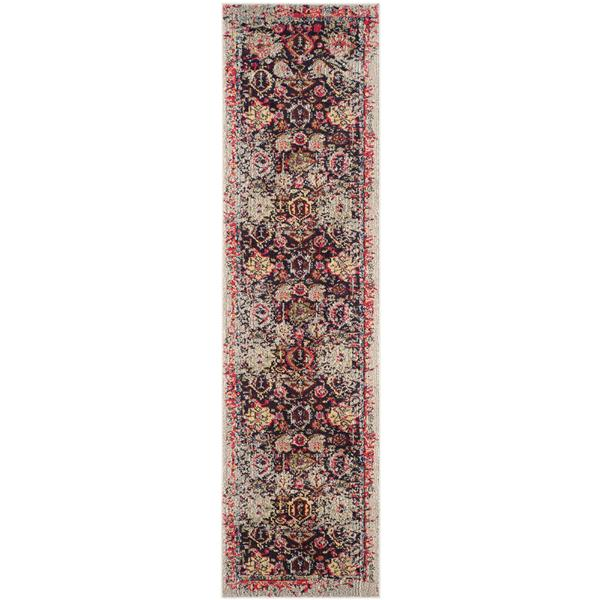 "Safavieh Monaco Decorative  Rug - 2' 2"" x 10' - Grey"