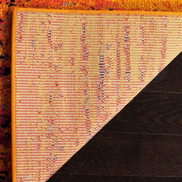 "Safavieh Monaco Decorative Rug - 2' 2"" x 12' - Orange"